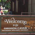 Just getting to the Oregon Caves is an experience, certainly not for the faint of hearts. No trailers, and switchbacks and hairpin turns galore. We lived to tell.