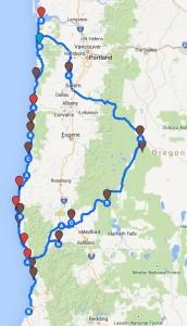 Run 101 Map
