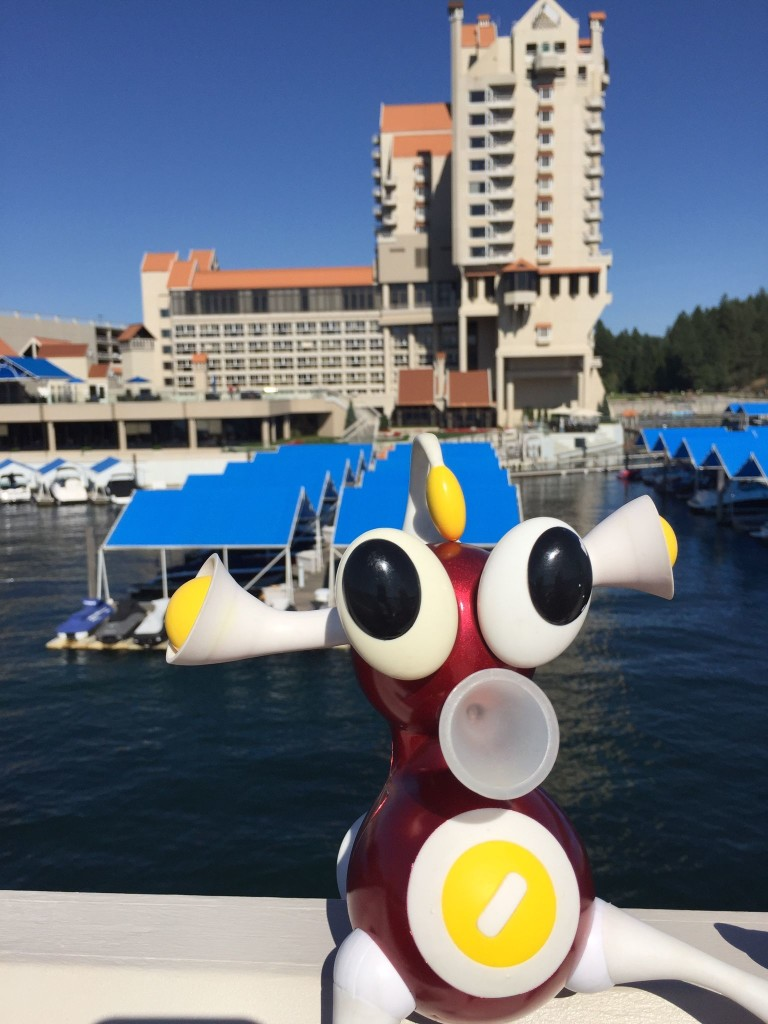 The resort in Coeur d'Alene. Flip makes a compelling arguement.